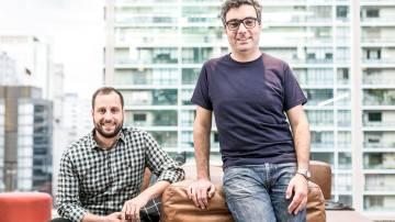 André Penha e Gabriel Braga, cofundadores do QuintoAndar (Divulgação)