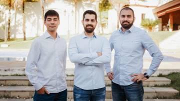 Daniel Wassano, Rafael Laganaro e Felipe Maia Lo Sardo, cofundadores da Goomer (Divulgação)