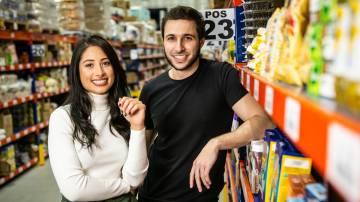 Bruna Vaz e Fábio Rodas, fundadores da Shopper (Gabriel Reis/Divulgação)