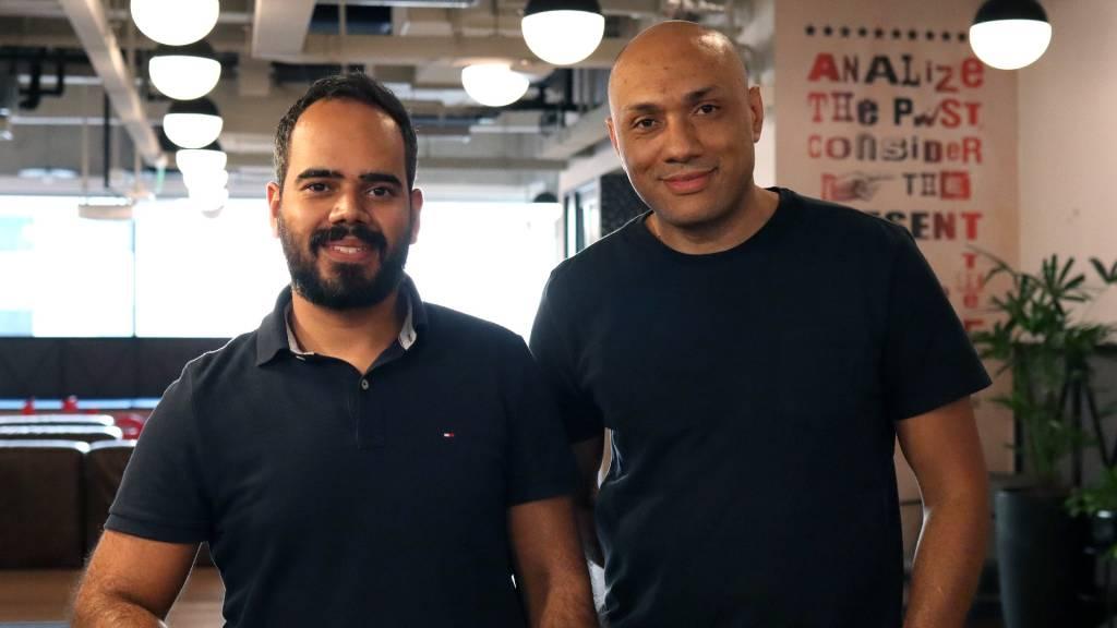 Helson Santos e Diego Dias, da Logstore (Divulgação)