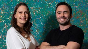Jaime Taboada e Rebecca Fischer, cofundadores da Divibank (Divulgação)