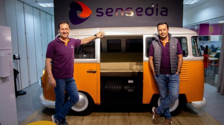 Kleber Bacili e Marcilio Oliveira, cofundadores da Sensedia (Divulgação)