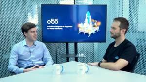 Hugo Mathecowitsch e André Wetter, da a55 (Divulgação)