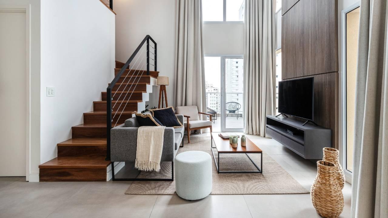 Apartamento que pode ser alugado pela Casai (Divulgação)