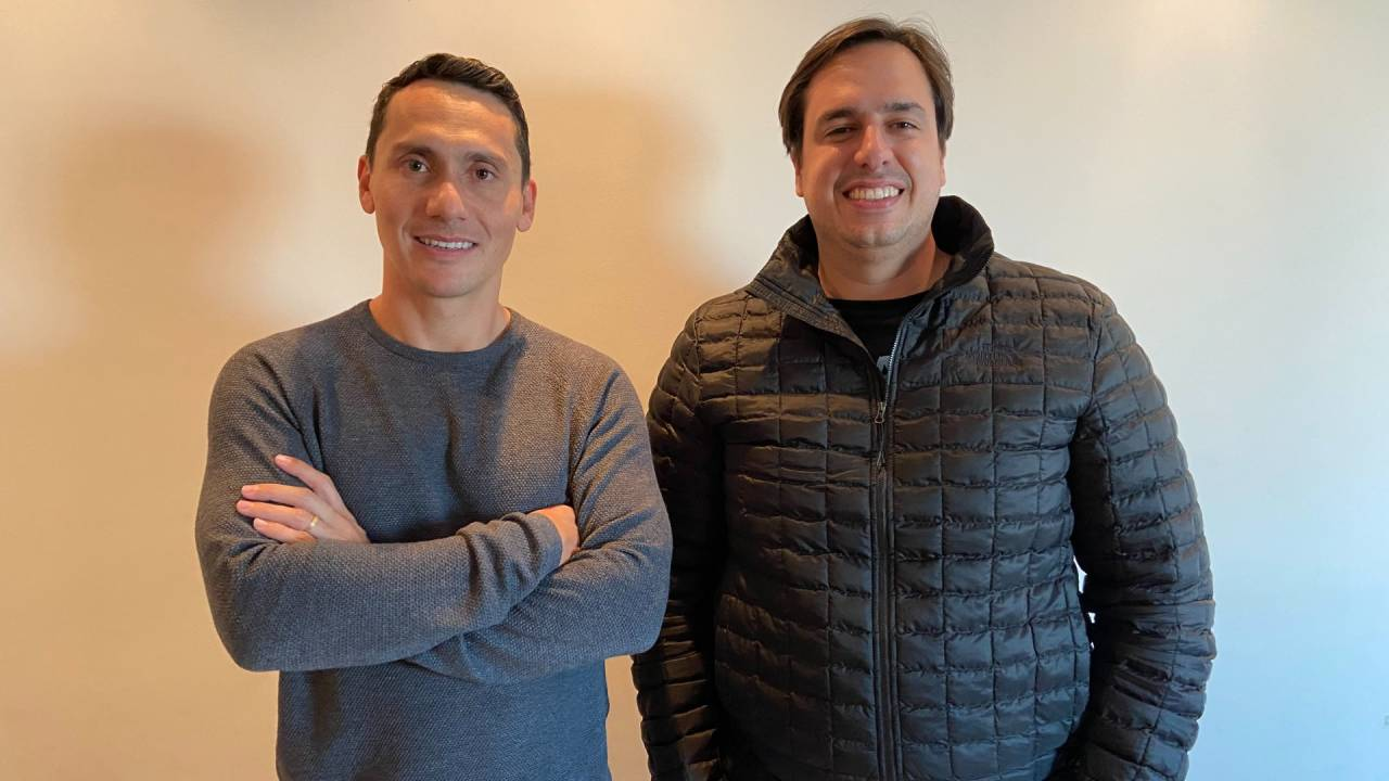 Fredy Evangelista e Heitor Orletti, cofundadores da Vianuvem, hoje unicoIauto (Divulgação)