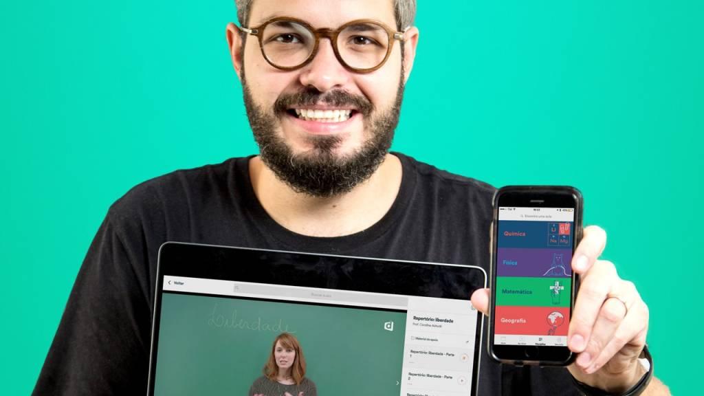 Daniel Pedrino, presidente da Faculdade Descomplica (Divulgação)