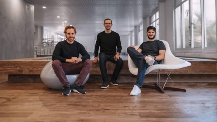 Rafael Steinbruch, Eduardo Campos e Paulo Bichucher, cofundadores da Yuca (Divulgação)
