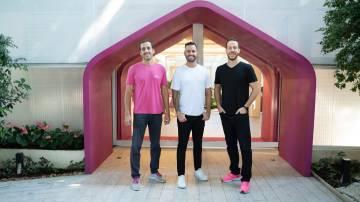 Guilherme Azevedo, André Florence e Matheus Moraes, cofundadores da Alice (Divulgação)