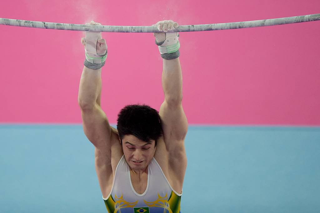 Arthur Nory, atleta da ginástica artística (Alexandre Loureiro/COB)