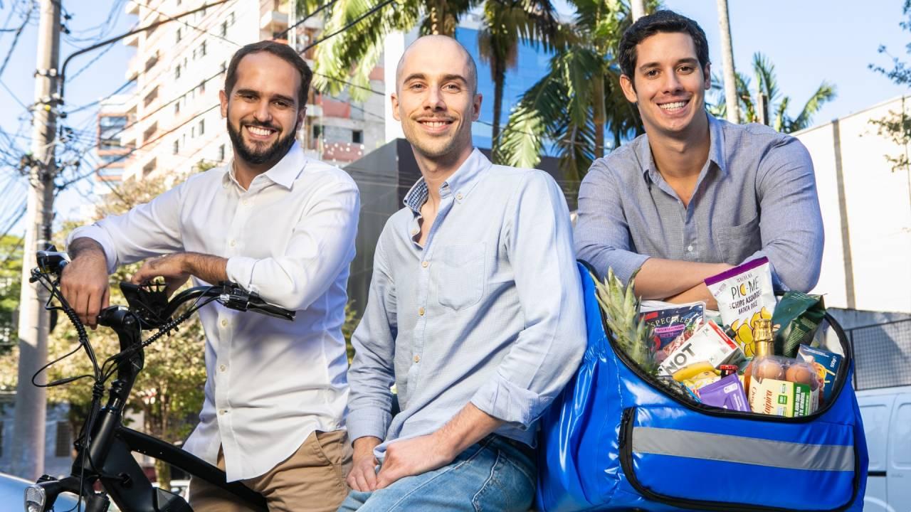 Rodrigo Maroja, Alex Bretzner e Rafael Vasto, da Daki (Divulgação)