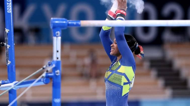 Rebeca Andrade, Olimpíada Tóquio