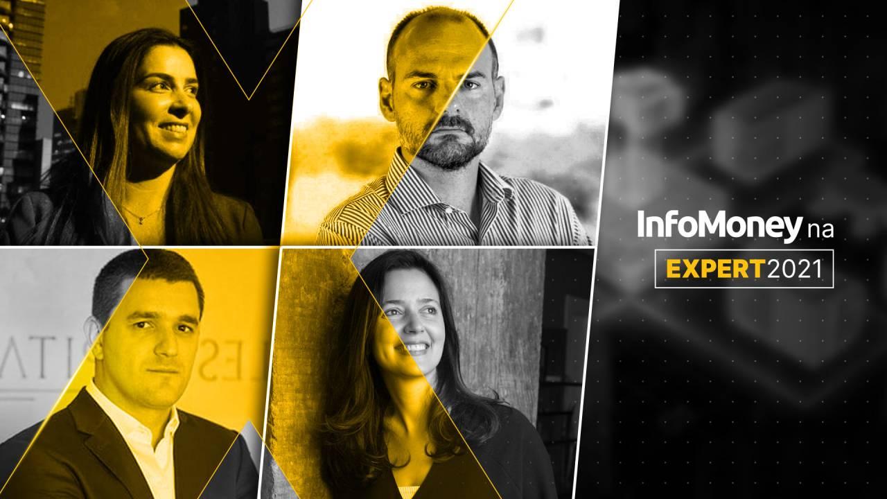 Luciana Seabra, Fabiano Custodio, Bruno Garcia e Sara Delfim