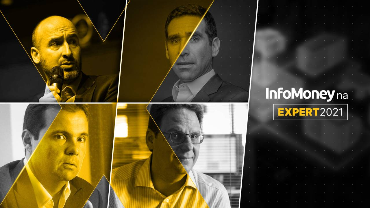 Felipe Guerra, Carlos Woelz, Marcio Appel e Bene Podluby - InfoMoney da Expert XP 2021