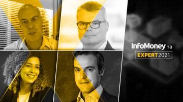 Sylvio Castro, Marcio Fontes, Tony Volpon e Carol Oliveira - InfoMoney da Expert XP 2021