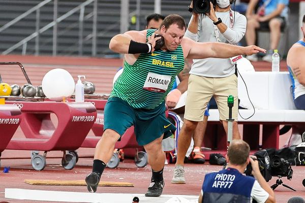 Darlan Romani, atleta do arremesso de peso (Gaspar Nóbrega/COB)