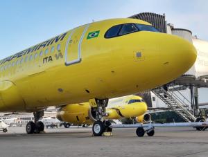 Avião da ITA Transportes Aéreos (Divulgação)