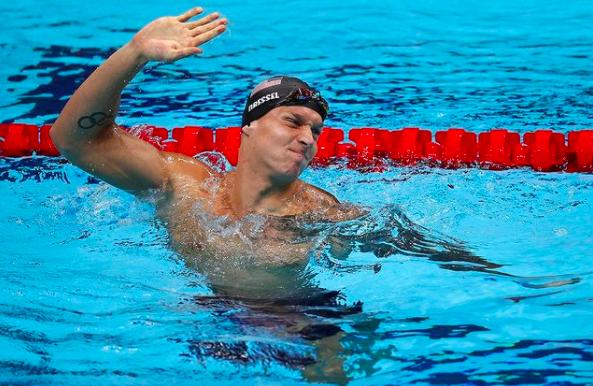Caeleb Dressel, nadador americano (FINA/Instagram)