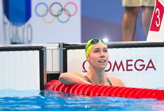 Emma Mckeon, nadadora australiana (Instagram/Reprodução)