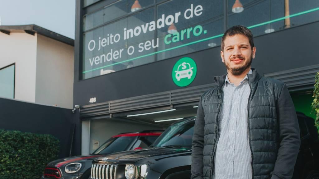 Luca Cafici, CEO da InstaCarro (Divulgação)