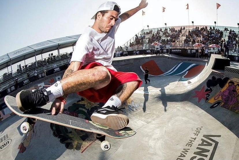 Pedro Barros, do skate park (Instagram/Reprodução)