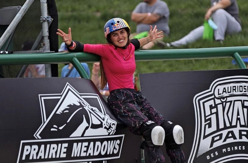 Yndiara Asp, do skate park feminino (Instagram-Reprodução)