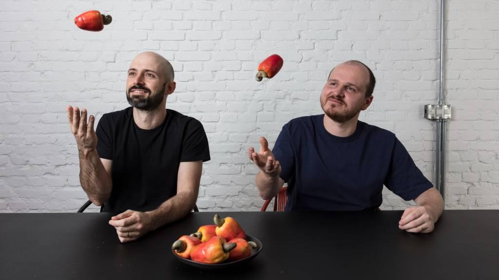 Renan Mendes e Eduardo del Giglio, da Caju (Divulgação)