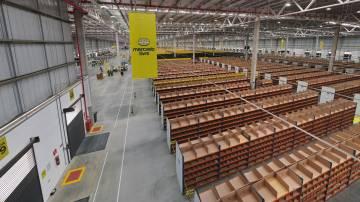 Centro de distribuição do Mercado Livre em Extrema, Minas Gerais (Divulgação)