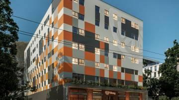 Edifício que a Uliving vai construir em Santos, perto da Universidade São Judas (Divulgação)