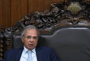 """Guedes confirma Colnago em secretaria e diz em coletiva: """"não queremos tirar 10 no fiscal e deixar brasileiros passando fome"""""""