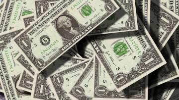 Notas de moeda americana