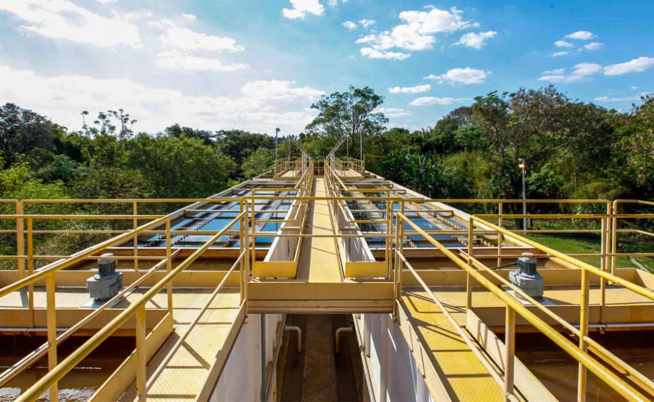 Água é tratada na Companhia Ituana de Saneamento (Divulgação/Prefeitura)